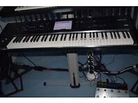 Yamaha motif xf 6 plus 512 mb flashboard fully loaded