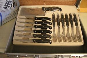 German Made 25 pc. knife set