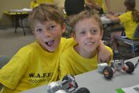 LAST CHANCE: W.A.F.F.L.E.S. LEGO Robotics Summer Camps!