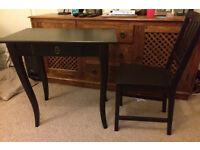 'LEKSVIK' IKEA desk and matching chair