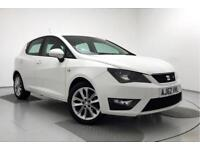 2013 SEAT Ibiza 1.2 TSI FR Petrol white Manual