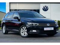 2017 Volkswagen Passat 1.6 TDI S 120PS Estate & 2 Year VW Warranty & Estate Dies