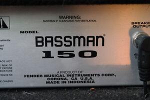 Fender Bassman Amp Kingston Kingston Area image 1