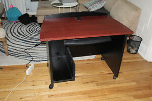 all solid wood study table and  book shelf for sell