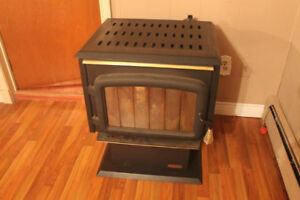 Drolet gravity feed stove