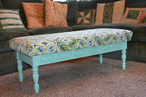 Ottoman, coffee table or bench