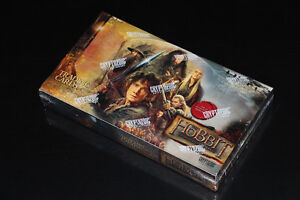 THE HOBBIT-DESAULATION OF SMAUG-COLLECTION-CARTES/CARDS-BOX(NEW)