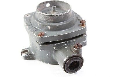 Old Metal Switch Rotary Switch Exposed 1 Dispatch Ap 380v