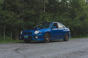 2002 Subaru Impreza WRX Sedan