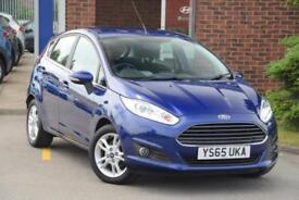 2015 Ford Fiesta 1.25 Zetec (82 PS) Petrol blue Manual