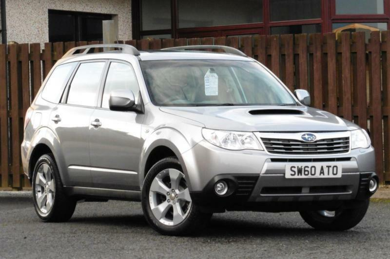 2010 SUBARU FORESTER 2.0 D XS NAV PLUS 5DR ESTATE DIESEL