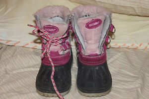 Children's/toddler's KHOMBU pink boots size 8