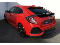 2018 Honda CIVIC HATCHBACK 1.0 VTEC Turbo SR 5dr Hatchback Petrol Manual