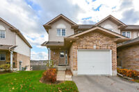 Immaculate End Unit Townhouse With Walk-out Basement!