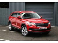 2019 Skoda KODIAQ 1.5 TSI (150ps) Edition 7 seats ACT DSG SUV Petrol red Semi Au