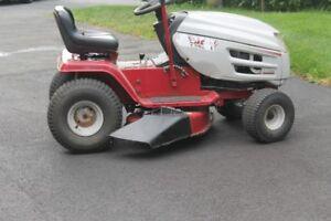 Lawn tractors ...
