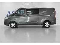 2016 Ford Transit Custom TDCi 290 Limited Panel Van Diesel Manual