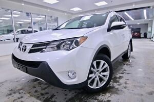2015 Toyota Rav4 Limited  - one owner - non-smoker - $195.19 B/W