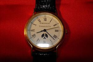 TIFFANY UNISEX WATCH WITH TIFFANY CASE RARE **NEW PRICE** London Ontario image 1