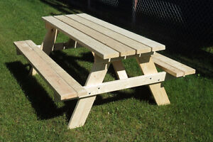 Picnic Tables (Spruce Tree Woodworking - Thunder Bay)