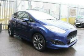 2017 BLUE FORD FIESTA 1.0 ECOBOOST 140 ST LINE 3DR HATCH CAR FINANCE FR £161 PCM
