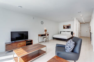 Studios Fully Furnished apartments at Quartier-des-Spectacles