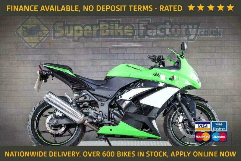 2010 10 Kawasaki Ninja 250 Nationwide Delivery Used