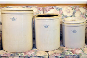 Three Crocks - Fermentation Jars