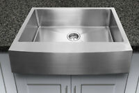 Farmerstyle stainless sinks NEW/Éviers de style campagnard NEUF