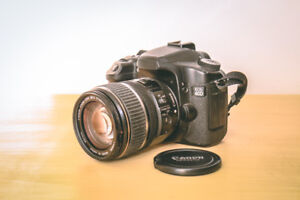 Cannon 40D + kit lens + 8Gb card // 135$ nego