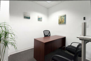 ★DOUBLE Offices w/Boardroom/Receptionist/Furniture @ Airport/Der