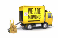 LAST MINUTE MOVING--Your Small Move Specialists!