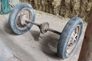 Rare Find!  Antique/ Vintage Ford Model T :: Axel and Wheels