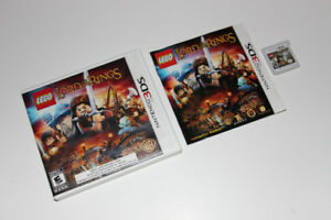 NINTENDO 3DS-LEGO LORD OF THE RINGS-JEU/GAME (C005)