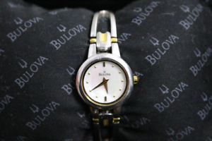 Vintage Bulova Mother of pearl watch
