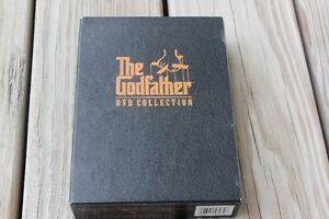 THE GODFATHER COLLECTION   3 DVDS