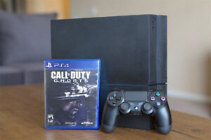 500GB PS4 + Call of Duty