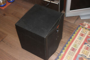 Solid Powerbass BW Active Subwoofer - MINT