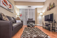 Fully furnished suite Square One, short /long term rental