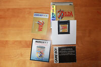 The legend of Zelda link's awakening and 3 others games