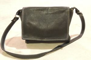 Black Leather Bag - Aldo