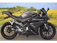 Yamaha YZF-R125 2014**DOUBLE BUBBLE SCREEN, SHIFT LIGHT, BARENDS**