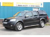 2013 GREAT WALL STEED 2.0 TD SE 4X4 DOUBLECAB DIESEL MANUAL PICK UP, FULL LEATHE