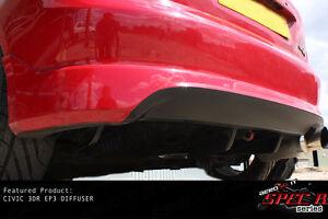HONDA CIVIC EP3 EP TYPE R 01+ body kit bodykit rear bumper DIFFUSER