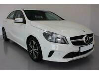 2016 WHITE MERCEDES A180D 1.5 SE EXECUTIVE DIESEL MANUAL CAR FINANCE FR £257 PCM