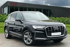 image for 2021 Audi Q7 S line 45 TDI quattro 231 PS tiptronic Estate Diesel Automatic