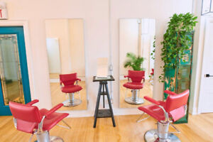 Hair chair for rent
