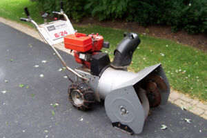 """Snow Blower, 24"""" Sears, with Electric Start, Runs Great"""