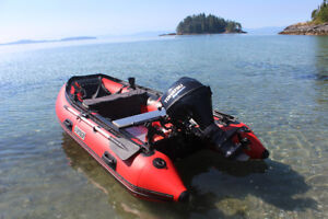 """Premium Inflatable Boats ** Stryker Ranger LX 420 (13'7"""")"""