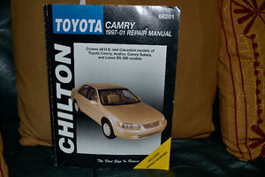 Toyota camry 1997-01 repair manual Chilton book West Island Greater Montréal image 1